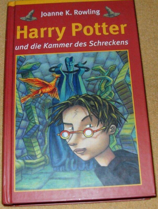 Harry Potter 02 und die Kammer des Schreckens*Joanne K. Rowling*Original-CR 1998