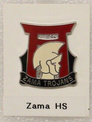Army ROTC DI Pin: Camp Zama High School (Japan) - c/b, W30