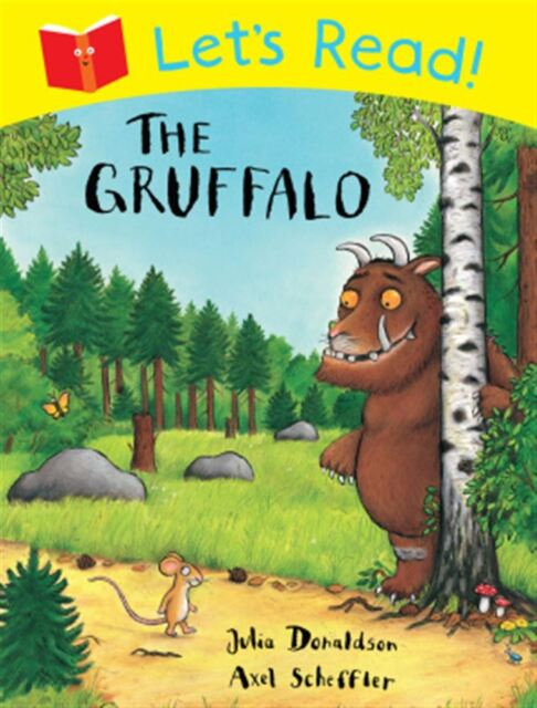 Let's Read! The Gruffalo by Julia Donaldson - Paperback - NEW - Book