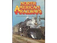 RAILWAY BOOK. NORTH AMERICAN RAILWAYS BY JB HOLLINGWORTH AND PB WHITEHOUSE FOR SALE