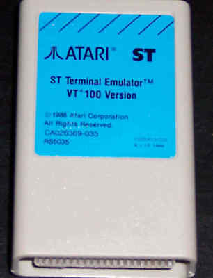 VT-100 Terminal Emulator Cartrige Atari 1040 ST/STE New No Box