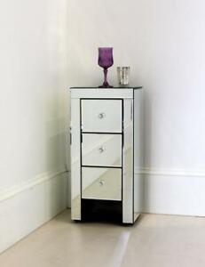 Small Mirror Nightstand