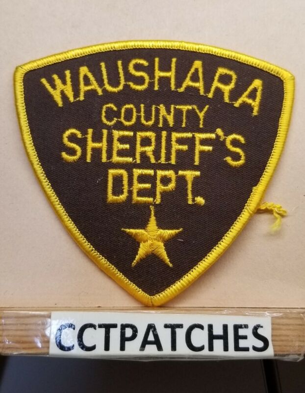 WAUSHARA COUNTY, WISCONSIN SHERIFF (POLICE) SHOULDER PATCH WI