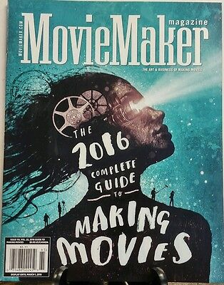 Movie Maker Magazine Issue 116 Vol 22 Guide To Making Movies Free Shipping Sb