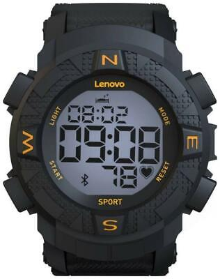 Lenovo Ego Smartwatch HX07 (Black Strap Regular)-FZL