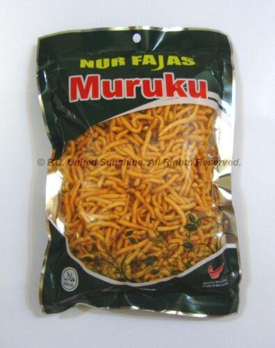 MALAYSIAN MURUKU DHAL SNACK Traditional Indian Malaysian Murukku Snack
