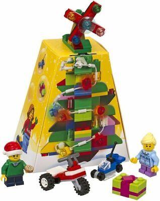 2 new Lego Creator Jolly Santa Claus 30478 /& Christmas Tree 5004934 Sets