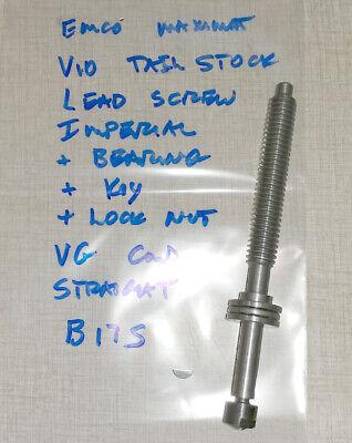 Emco Maximat V10 Series Lathe Tailstock Leadscrew Imperial B17s