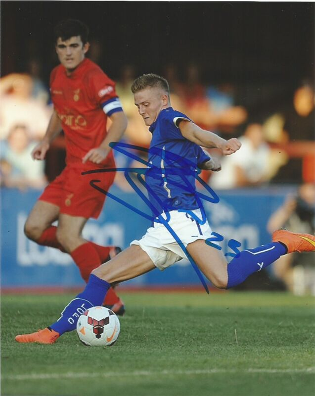 Leicester City Jack Barmby Autographed Signed 8x10 Photo COA A