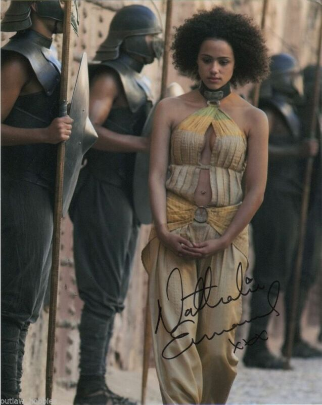 Nathalie Emmanuel Game of Thrones Autographed Signed 8x10 Photo COA #1
