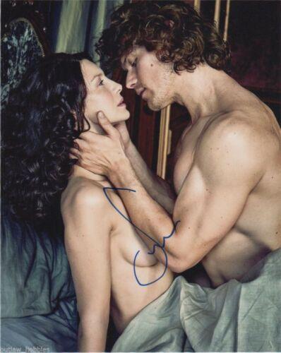 Sam Heughan Outlander Autographed Signed 8x10 Photo COA #A3