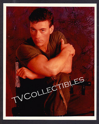 8x10 Photo~ Actor JEAN CLAUDE VAN DAMME ~Posing in color