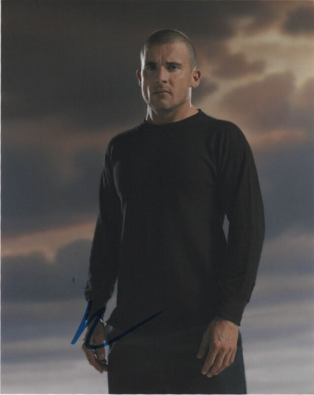 Dominic Purcell Prison Break Autographed Signed 8x10 Photo COA