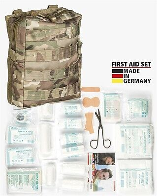 First Aid Set Leina pro.43-tlg lg multitarn, Erste Hilfe, Camping, Outdoor -NEU-
