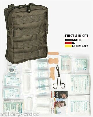 Molle First Aid Kit IFAK Modular Erste Hilfe LEINA 43 teilig Modular large oliv