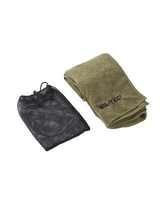 Handtuch Microfibre 80x40cm oliv, Camping, Outdoor     -NEU-
