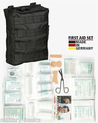 Molle First Aid Kit IFAK Modular Erste Hilfe LEINA 43 tlg Modular large schwaz