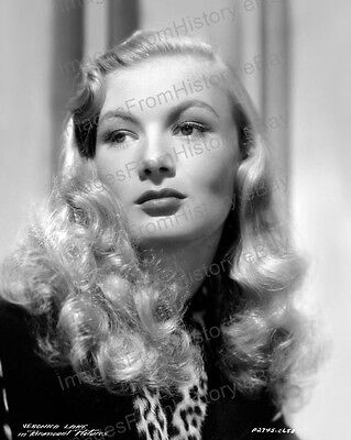 8x10 Print Veronica Lake Beautiful Portrait 1942 #7676