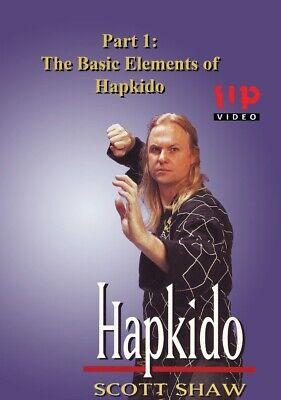 Korean Hapkido Martial Arts #1 Basic Elements DVD Scott Shaw