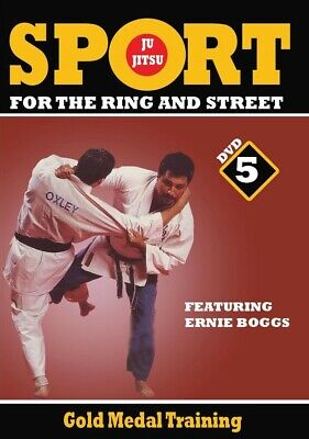 Jiu-Jitsu Ring & Street Fighting #5 Gold Medal Training Secrets DVD Ernie Boggs