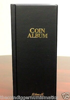 Harris Coin Stock Book 80 Pocket Album for 2x2 Holder Storage Whitman Holder