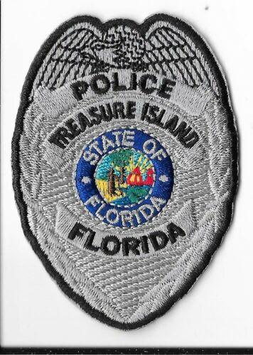 Treasure Island Police Department, Florida Breast Patch V1