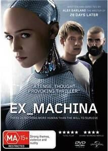 DVD - Ex_Machina (MA) South Lake Cockburn Area Preview
