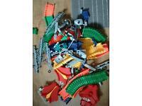 Twister toy car tracks