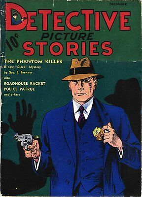 Detective Picture Stories #1 Photocopy Comic Book