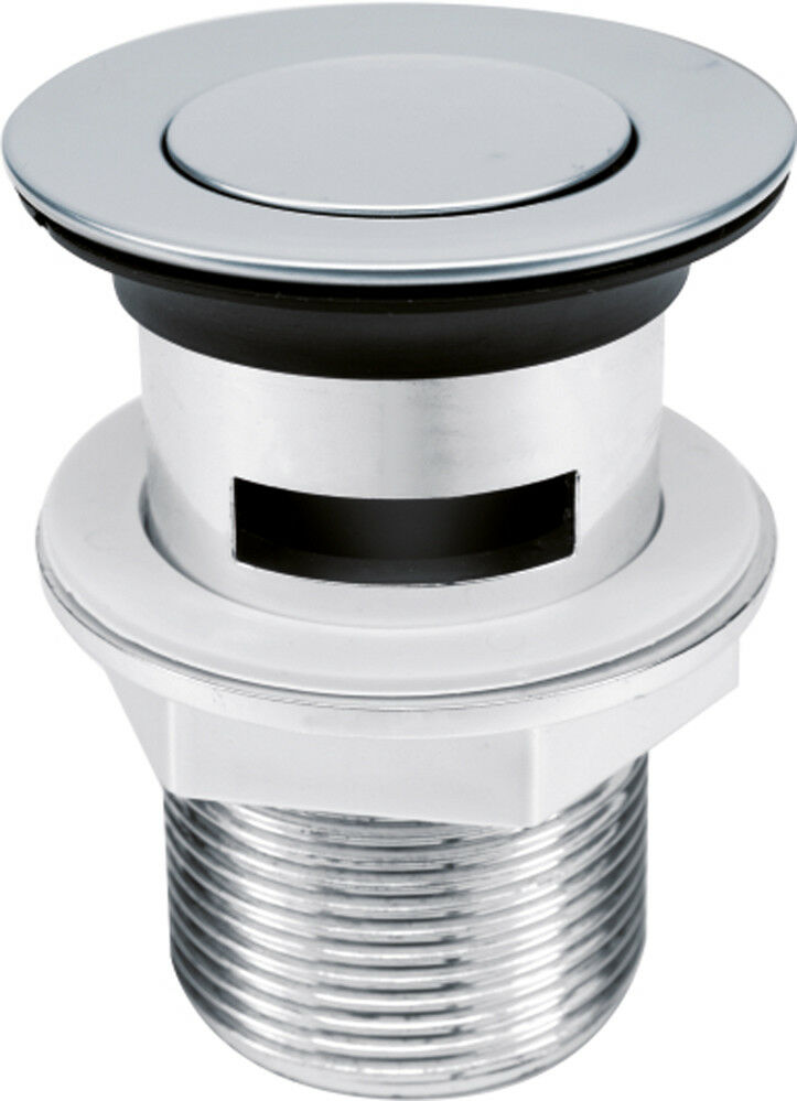 Ablaufgarnitur Pop Up Abfluss Ablauf Ventil Waschbecken Stöpsel Waschtisch 75483