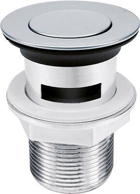 Waschbecken STÖPSEL Ablaufgarnitur POP UP Funktion Ablaufventil Abfluss Ablauf