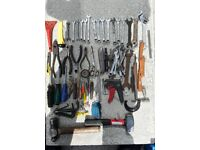 Wilko tool bag full of tools.