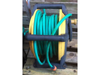 Hose on reel - choice of two available