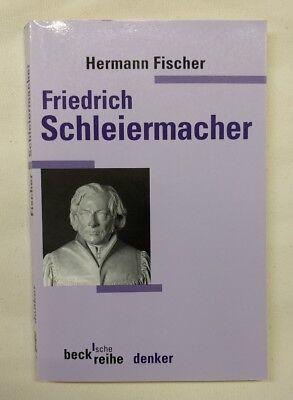 Hermann Fischer Friedrich Schleiermacher