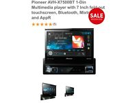 Pioneer avh x7500bt car DVD player with Bluetooth