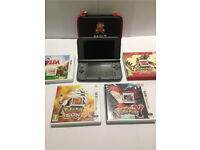 New Nintendo 3ds Xl with 4 games- Mint Condition.