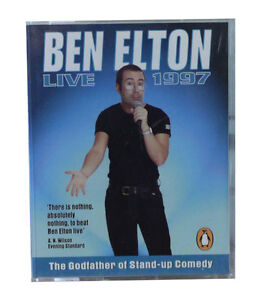 Ben Elton Live 1997 - audiobook - books on tape