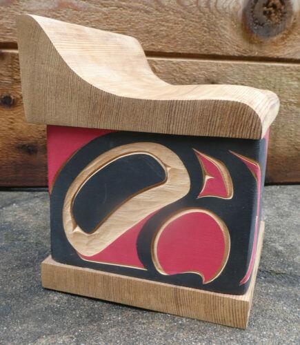 Northwest Coast Bentwood Box Troy Bellerose Canada Aboriginal Native Art