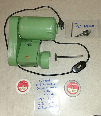 Emco Maximat Super 11 V10 Lathe Tool Post Grinder