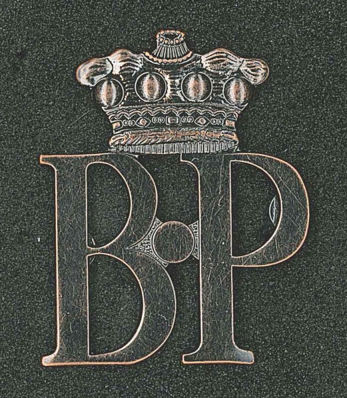 UK British RESA (Rover Explorer) Rover Scout Baden Powell Metal Top Rank Award