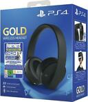 Sony Gold Wireless Stereo Headset (Black) Fortnite Neo Ve...