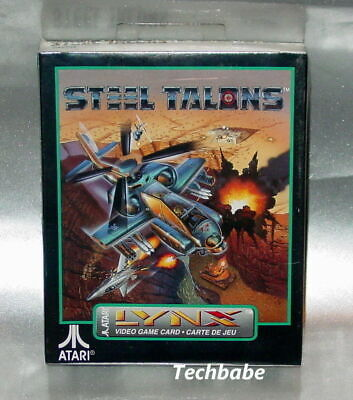 Brand New STEEL TALONS for Atari Lynx II 1 or 2 system factory sealed free ship