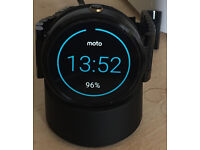 Moto 360 1 Gen Black Steel Edition
