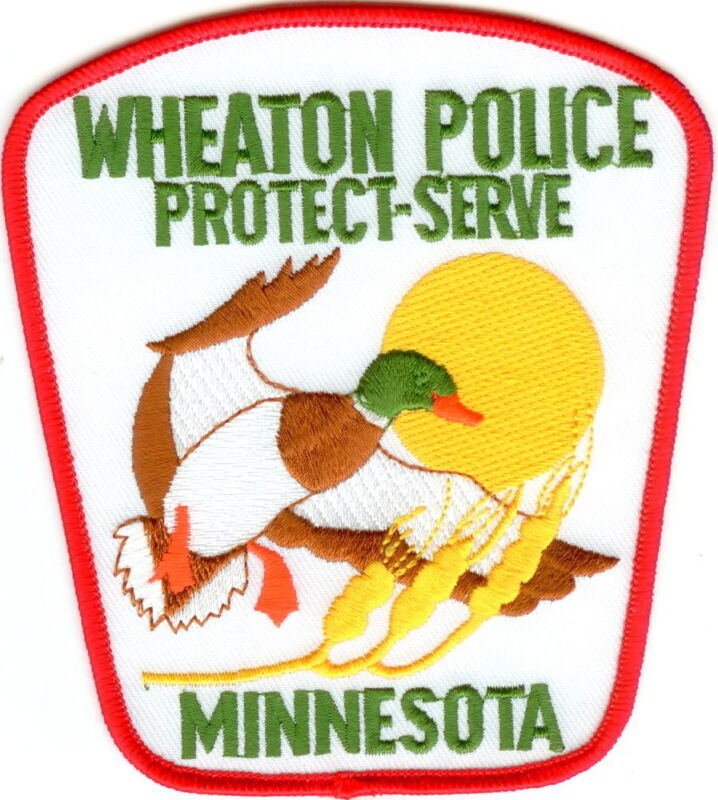 Wheaton Police Patch Minnesota MN NEW