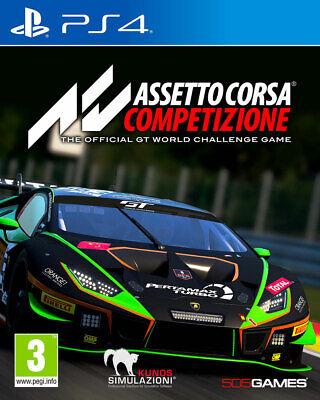 Assetto Corsa Competizione (PS4) PRE-ORDER RELEASED 23/06/2020 - NEW AND SEALED