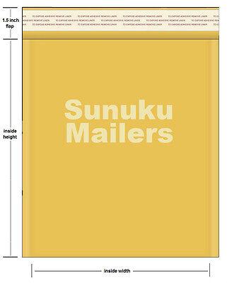 100  #5 (10.5 x 16) Kraft Bubble Mailers Padded Envelopes - Free shipping