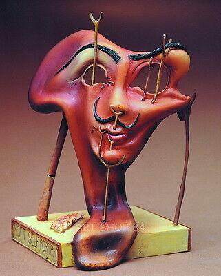 """SALVADOR DALI - Skulptur - """"Weiches Selbstbildnis.."""" - Figur der Museums Edition"""