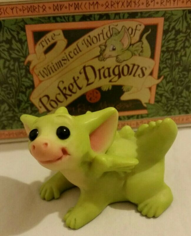 RC 💖  Pocket Dragons Dragon * Mint * 👿Mischief👿 * 2004 *