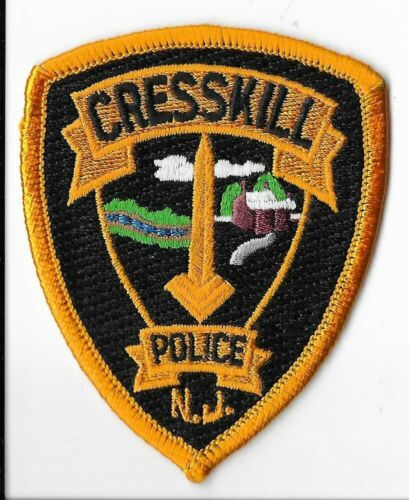 Cresskill Police Department, New Jersey Breast Patch