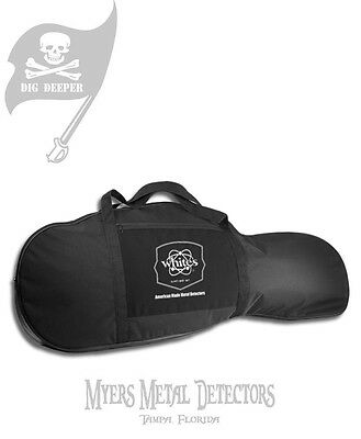 NEW White's Metal Detector Padded Carry Bag + Fast Shipping